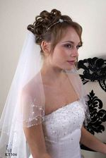 Wedding veil KT506